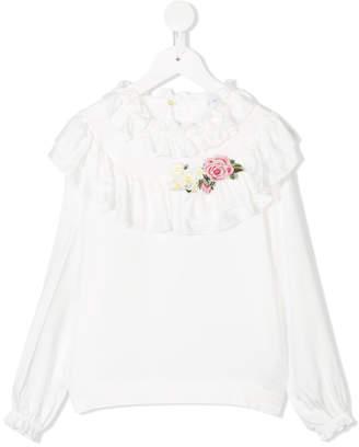 MonnaLisa ruffled blouse