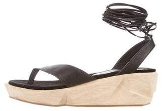 Rachel Comey Flatform Lace-Up Sandals w/ Tags