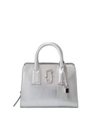 Marc Jacobs Little Big Shot Metallic Satchel Bag