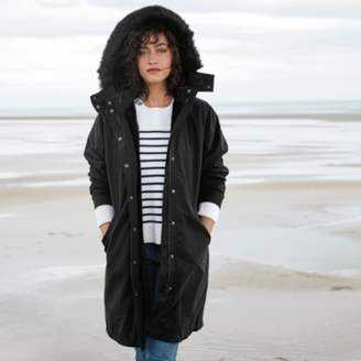The White Company Faux Fur Lined Parka