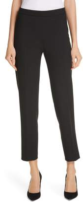 BOSS Tiluna Soft Stretch Side Zip Ponte Trousers