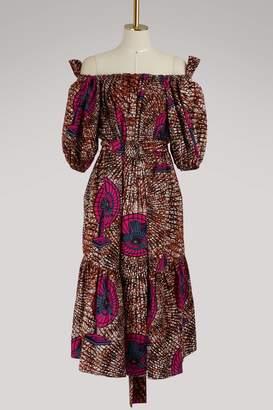 Stella McCartney Off-the-shoulder dress