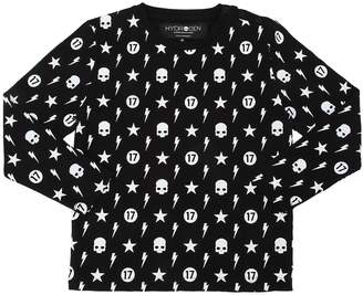 Hydrogen Kid Printed Jersey Long Sleeve T-Shirt