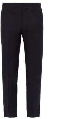 Privee Salle Salle Seph Relaxed Wool Blend Trousers - Mens - Navy