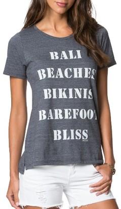 Women's O'Neill Bali Bliss Tee $28 thestylecure.com