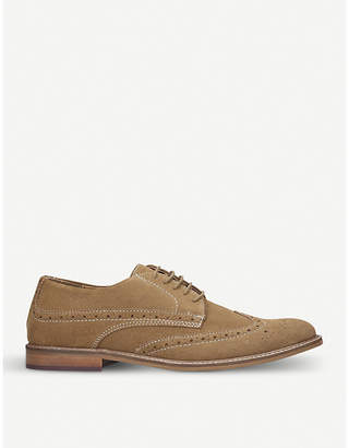 Kurt Geiger London Dennis lace-up suede brogues