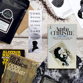 Bookishly Three Month Vintage Crime Thriller Book Subsription