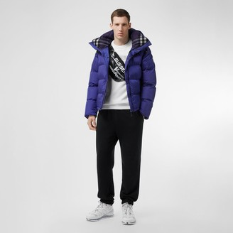 Burberry Detachable Sleeve Hooded Puffer Jacket