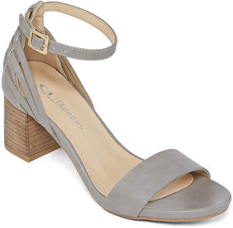 CL BY LAUNDRY CL by Laundry Womens Jinney Strap Heeled Sandals