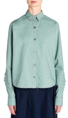 Marni Cotton Button-Front Shirt