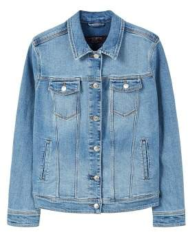 Violeta BY MANGO Medium wash denim jacket