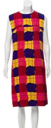 Marni Wool and Silk Sleeveless Midi Dress w/ Tags