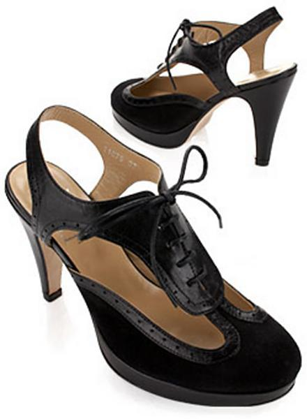 Opening Ceremony Cut-Out Oxford Pump