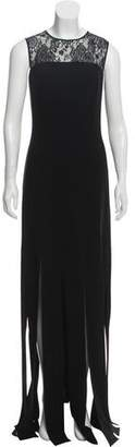 Teri Jon Sleeveless Evening dress