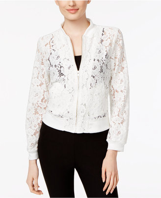 Fever Lace Bomber Jacket $60 thestylecure.com