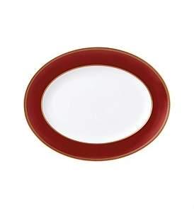 Wedgwood Renaissance Red Oval Platter 35Cm
