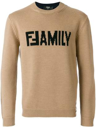 Fendi Family sweater