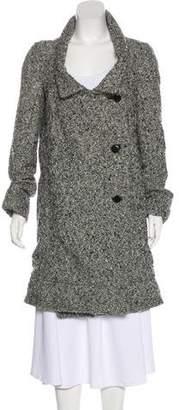 Marni Mohair & Virgin Wool-Blend Long Coat
