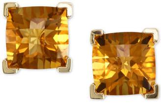 Effy Citrine Stud Earrings (4-1/5 ct. t.w.) in 14k Gold