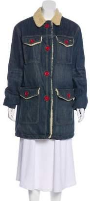 Marc Jacobs Short Denim Coat
