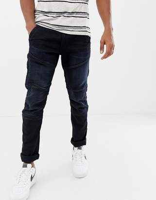 c5140d1ce6b G Star G-Star Rackam dc tapered fit super stretch jean in dark wash with