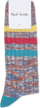 Paul Smith Daftie cotton socks $18 thestylecure.com