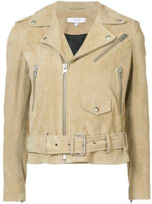 IRO zipped biker jacket