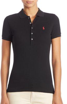 Polo Ralph Lauren Stretch-Cotton Polo Shirt $89.50 thestylecure.com