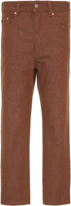 Ami Brown Five-Pocket Jean