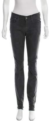 Helmut Lang Mid-Rise Straight-Leg Jeans