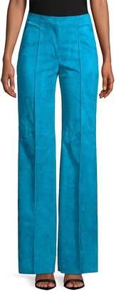 Akris Women's Christa Suede Trousers