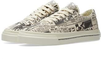 Stepney Workers Club Dellow Magazine Print Sneaker
