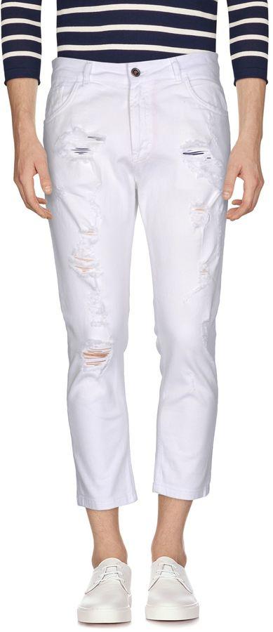Mens White Jeans - ShopStyle Australia