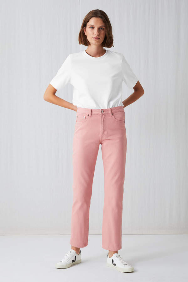 Arket Cropped Overdyed Jeans