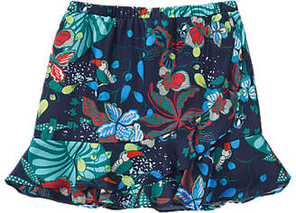 Jigsaw Girls' Palm Beach Skirt, Navy