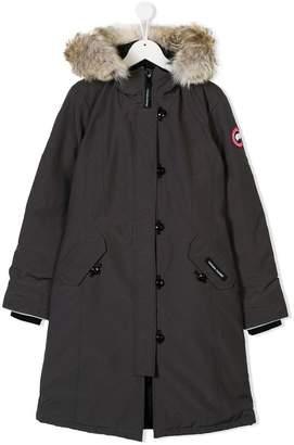 Canada Goose Kids TEEN hooded parka coat