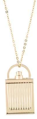 Chloé Perfume Bottle Pendant Necklace