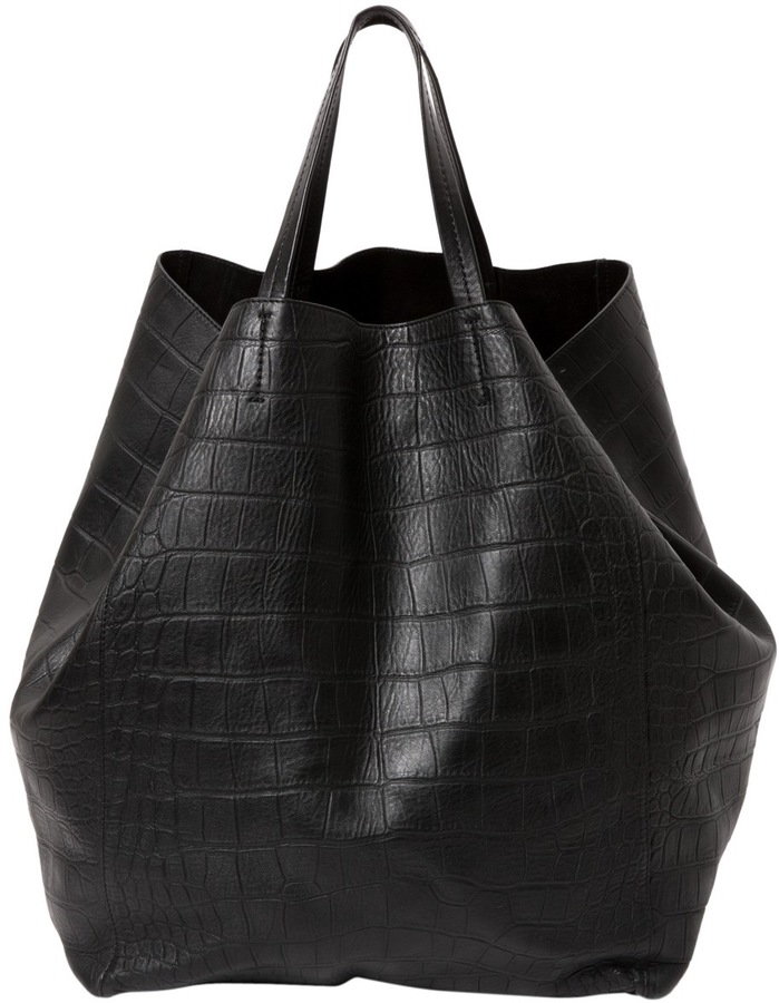 CelineCabas leather tote