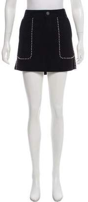 Rebecca Minkoff Suede Mini Skirt w/ Tags