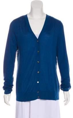 Derek Lam Cashmere & Silk Blend Knit Cardigan Cashmere & Silk Blend Knit Cardigan