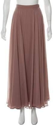 Jenny Yoo Asymmetric Midi Skirt