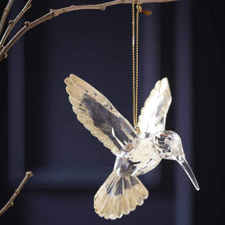 The Christmas Home Gold Humming Bird Christmas Decoration
