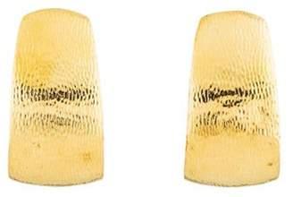 David Webb 18K Textured Drop Earrings yellow 18K Textured Drop Earrings