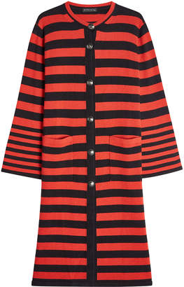 Etro Striped Cardigan with Wool and Cashmere