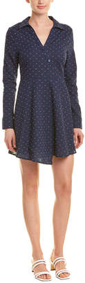 BCBGeneration Overlapping Faux Wrap Dress