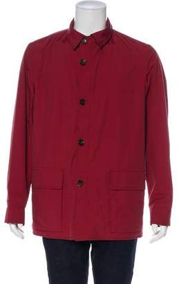 Luciano Barbera Wool Lightweight Jacket