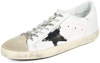Golden Goose Superstar White Flag Sneakers