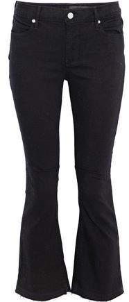 Rta Frayed High-Rise Kick-Flare Jeans