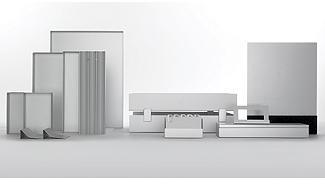 Aluminum Desk Set