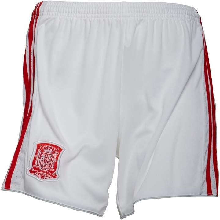 Damen FEF Away Fußball Shorts Biały